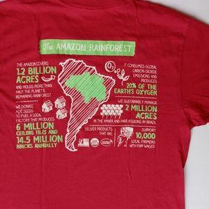 AMAZON RAINFOREST T SHIRT MEDIUM